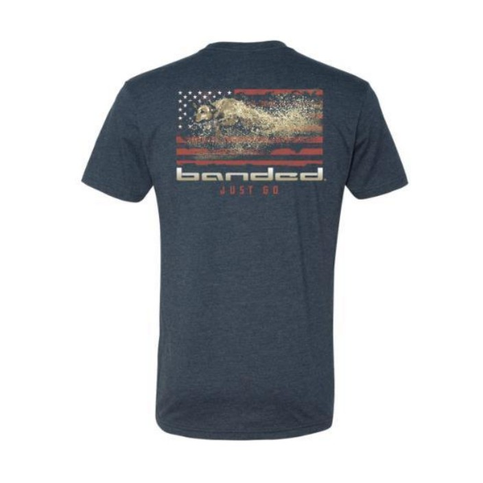 Banded American Drive S/S Tee
