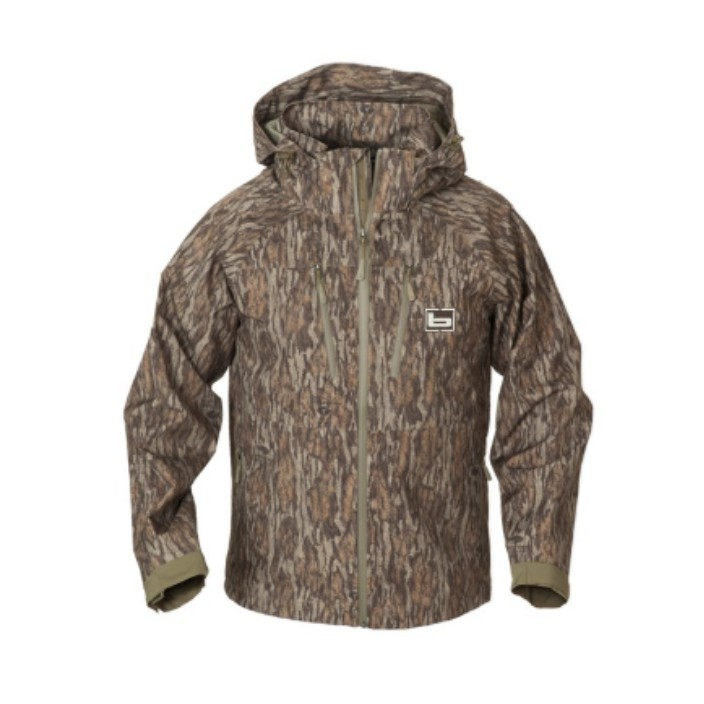 Banded Feather Stretch Shell Jacket