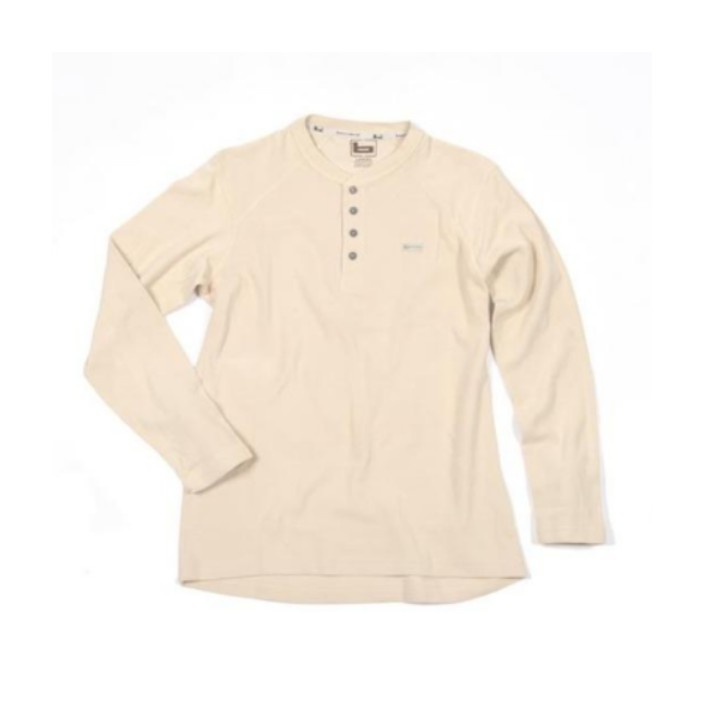 Banded Thermal Workman Henley