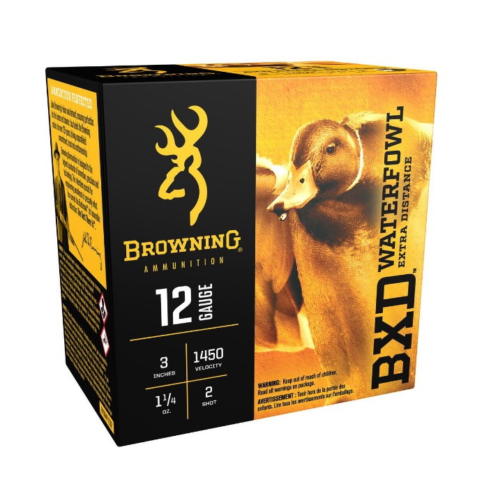 Browning BXD 12GA 3IN 1-1/4 NO4 B193411234