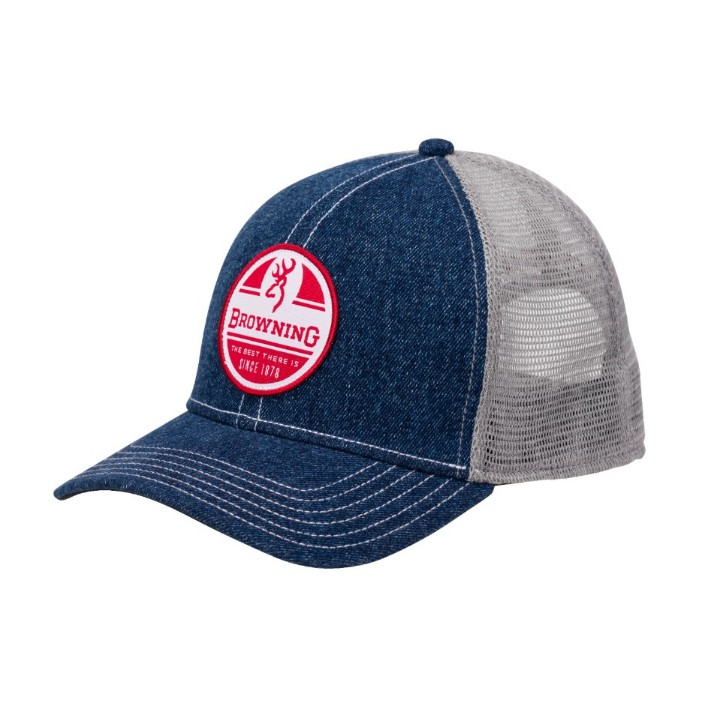 Browning RWB Denim Cap