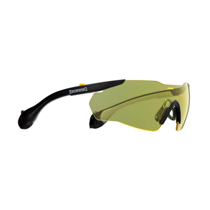 Browning Sound Sheild Glasses - Yellow