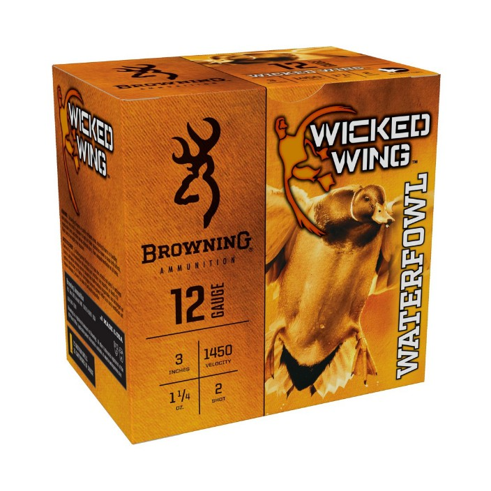 Browning Wicked Wing 12GA 3IN 1.25OZ #2 B193421232