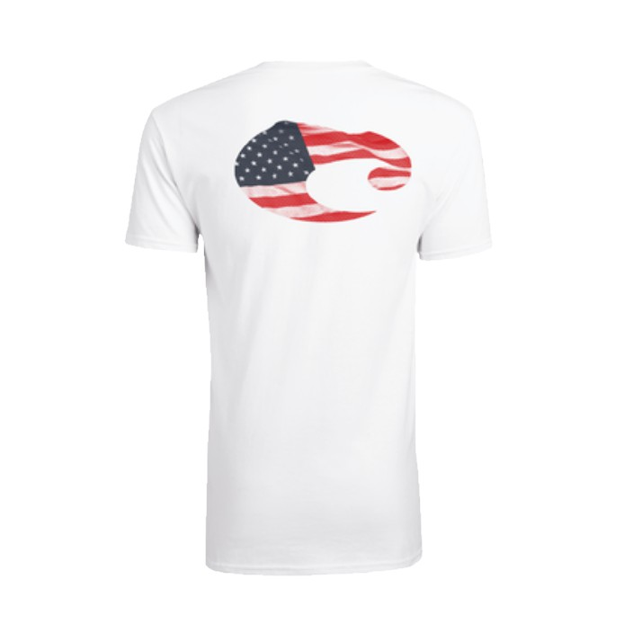 Costa Americosta White T-Shirt