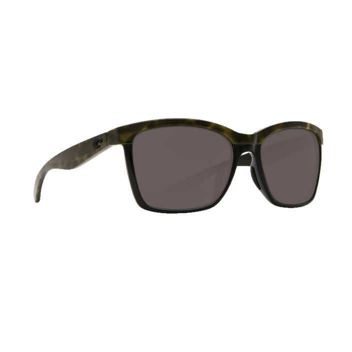 Costa Anaa Polarized Sunglasses Shiny Olive Tort