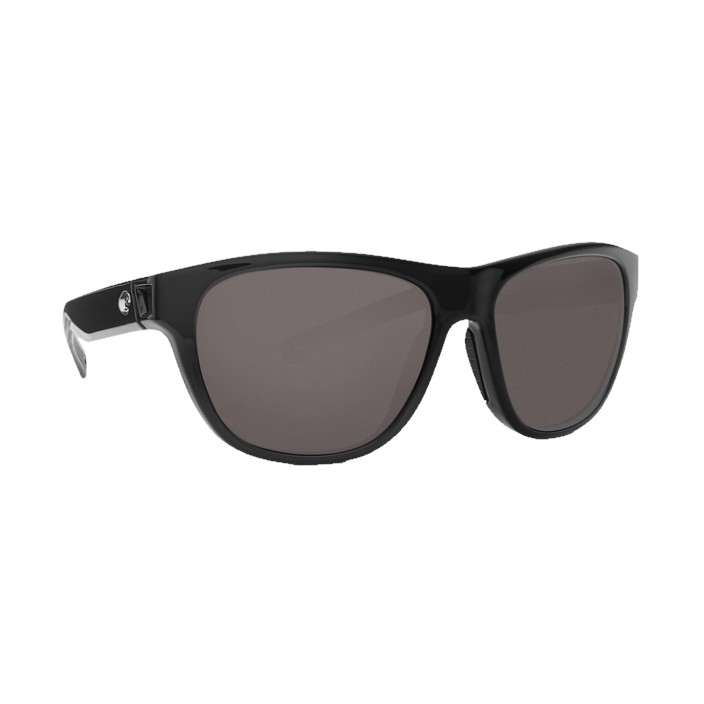 Costa Bayside Polrized Sunglassess Shiny Black 580P