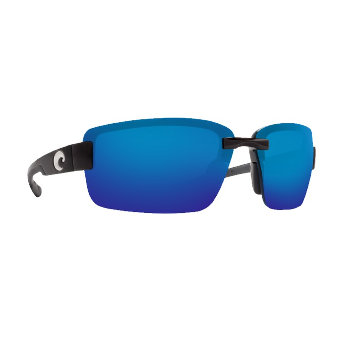 Costa Galveston Black Blue Mirror 580G