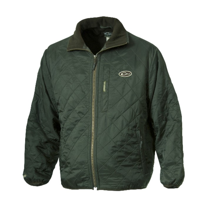 Drake Delta Quilted Fleece Lined Jacket
