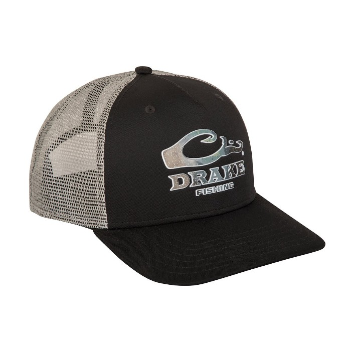 Drake Fishing Logo Mesh Back Cap