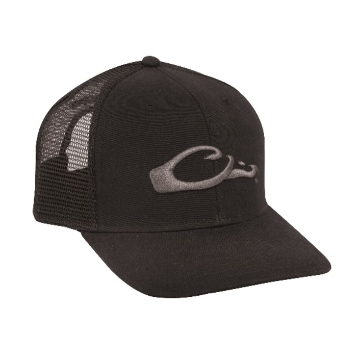Drake Mesh Back Flat Bill Cap