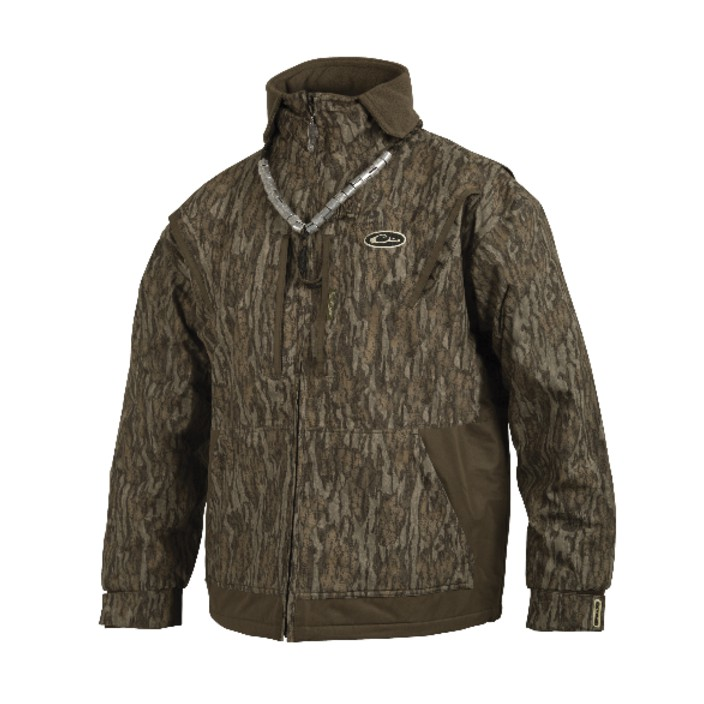Drake MST Waterfowl Fleece-Lined Full Zip 2.0