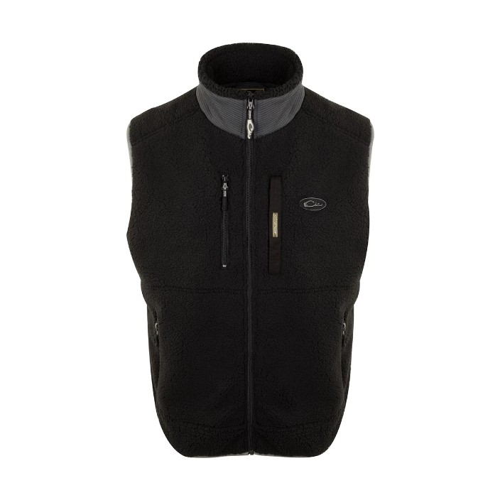 Drake Sherpa Fleece Layering Vest