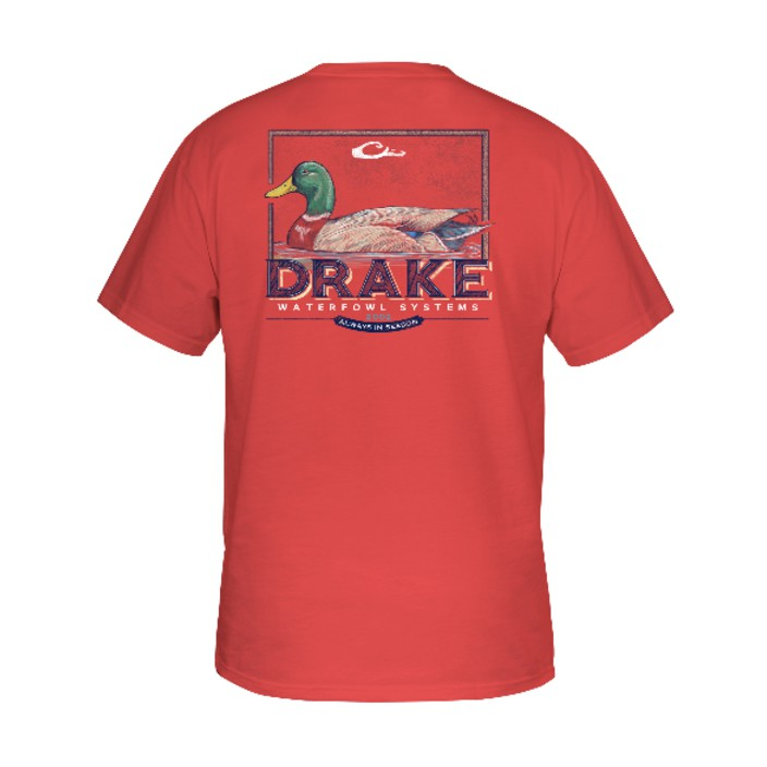 Drake Southern Collection Mallard Drake T S/S