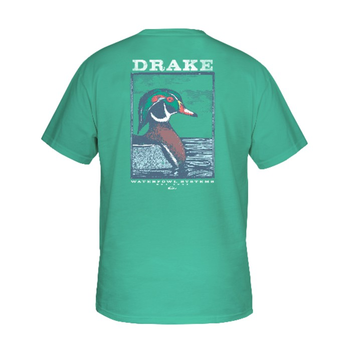 Drake Southern Collection Wood Duck T S/S