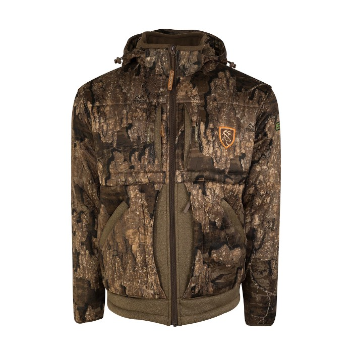 Drake Stand Hunter's Silencer Jacket with Agion Active XL