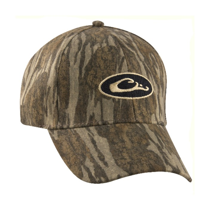 Drake Youth Waterproof Camo Cap