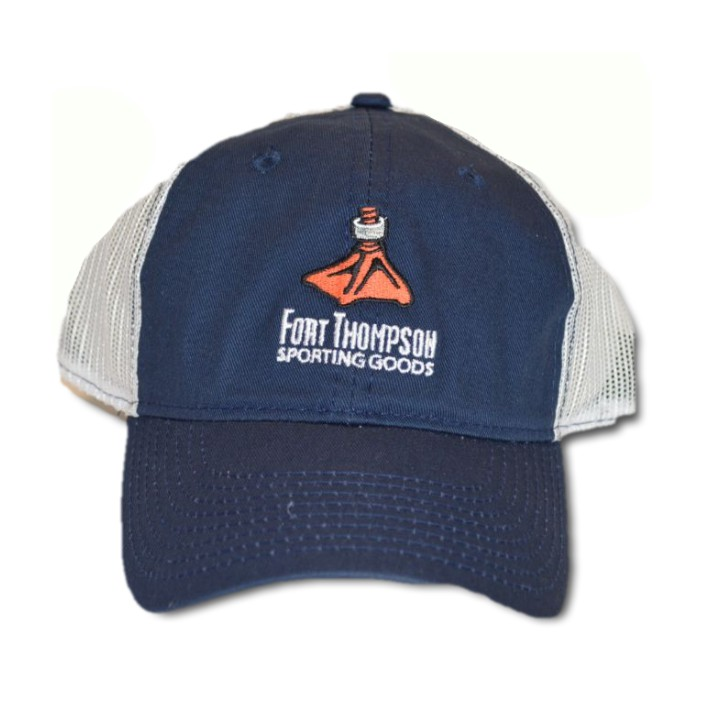 Duck Foot Navy/White Mesh Back Hat