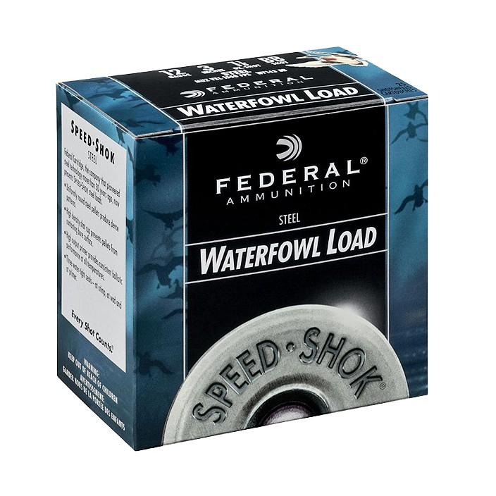 Federal 12GA 3IN #4 1-1/4OZ WF1404-Case