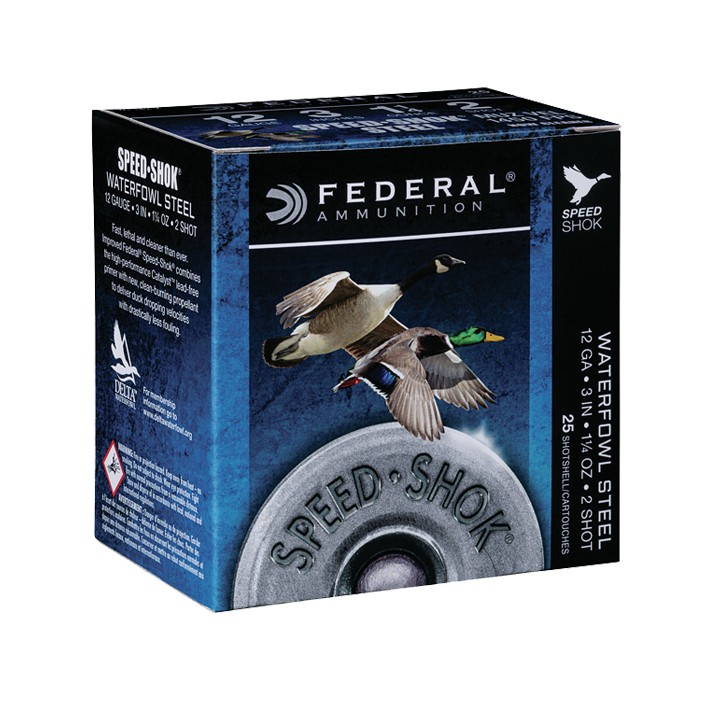 Federal 12GA 3IN BB 1/1/4OZ WF142BB-Case