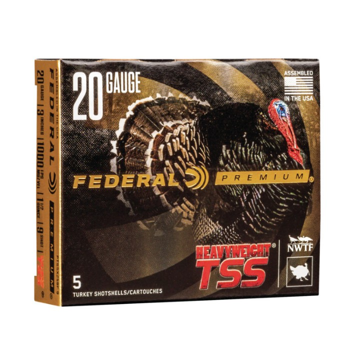 Federal Heavyweight TSS PTSSX258F 9 20G 3'' 1 1/2oz #9