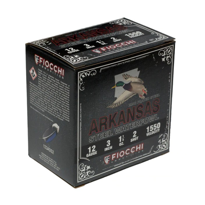 Fiocchi 12 Gauge 3IN #2 1-1/5OZ ARK 123ADS2
