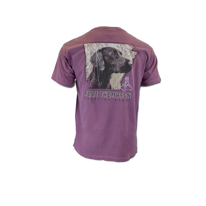 Fort Thompson Arkansas Dog Design