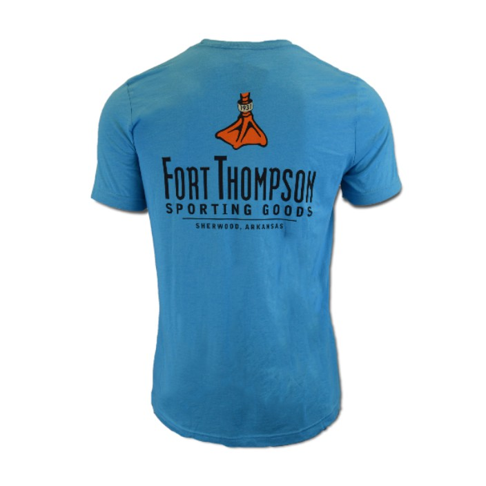 Fort Thompson Canvas Logo Tee