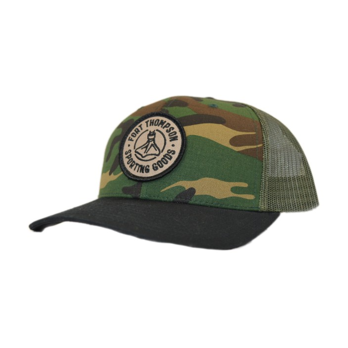 Fort Thompson Capture Pre-Curved Trucker Camo