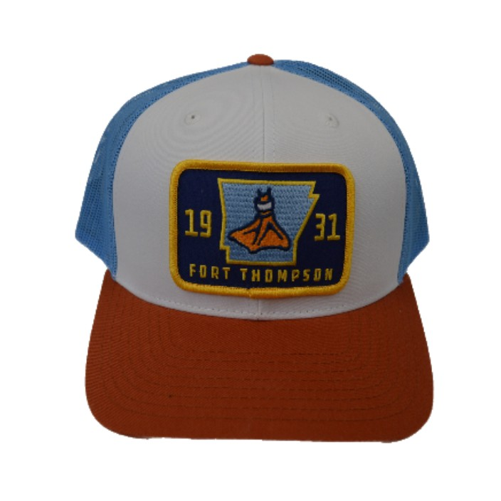 Fort Thompson Pre-Curved Trucker Cotton Twill/Mesh