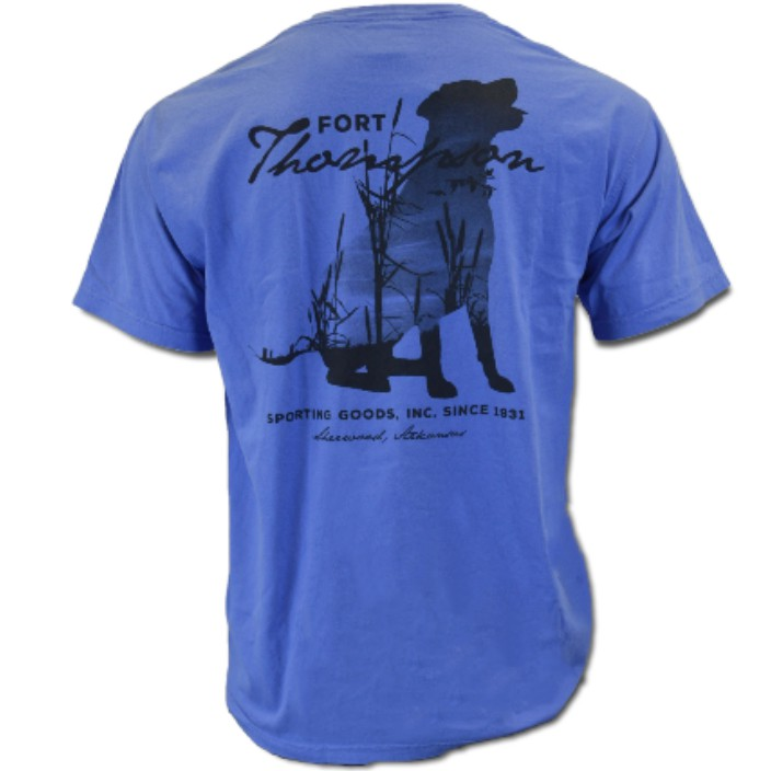 Fort Thompson Scenic Dog Tee