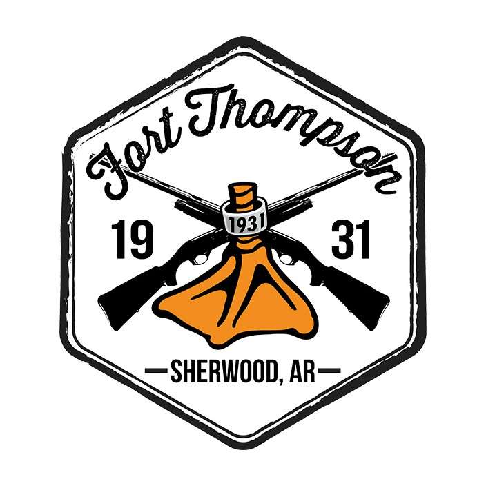 Fort Thompson Shotguns Duck Foot Sticker