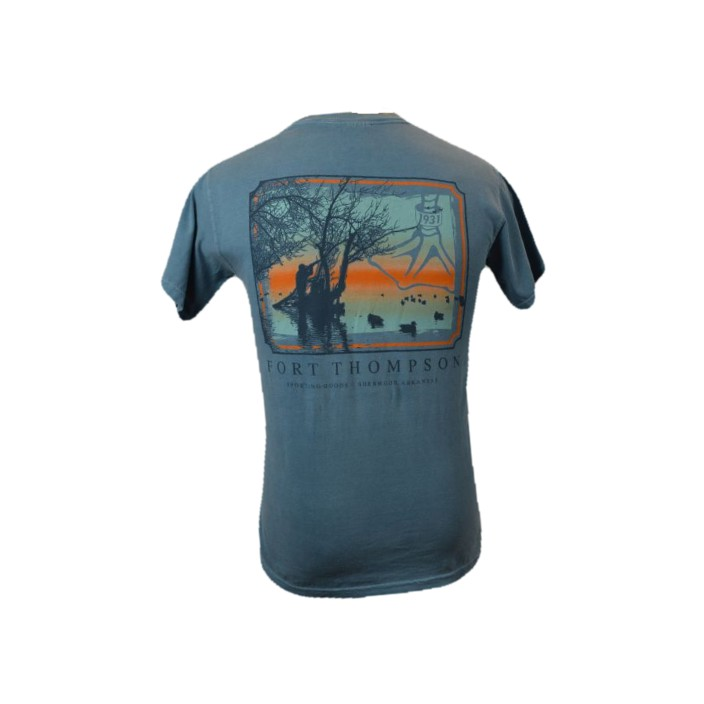 Fort Thompson Sunrise Frame Tee