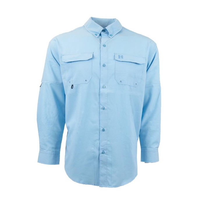 Heybo Azure L/S Fishing Shirt
