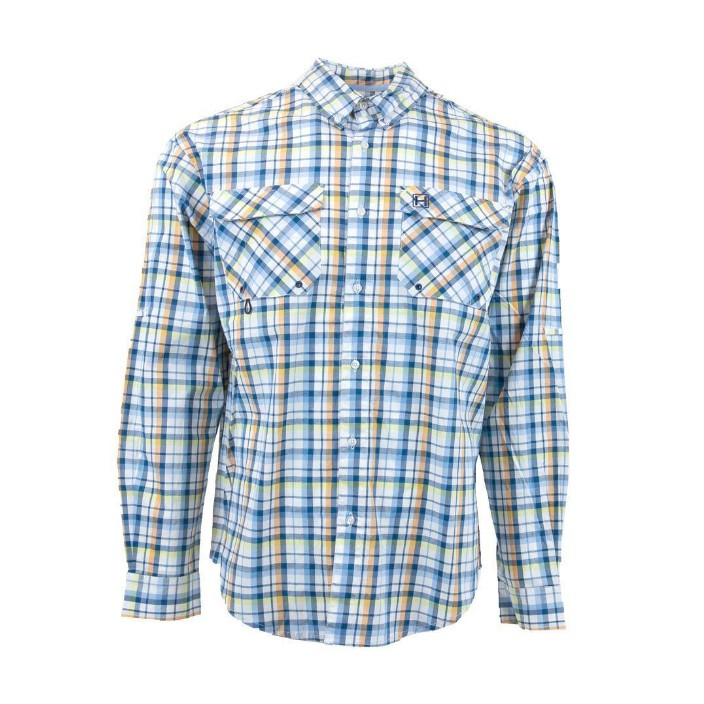 Heybo Guide Shirt White/Blue/Citrus