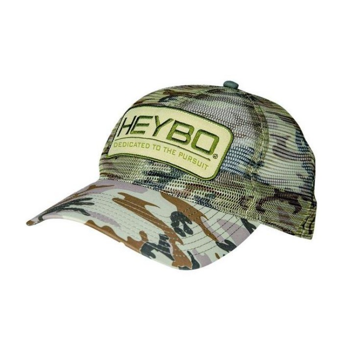 Heybo Old School Camo All Mesh Hat