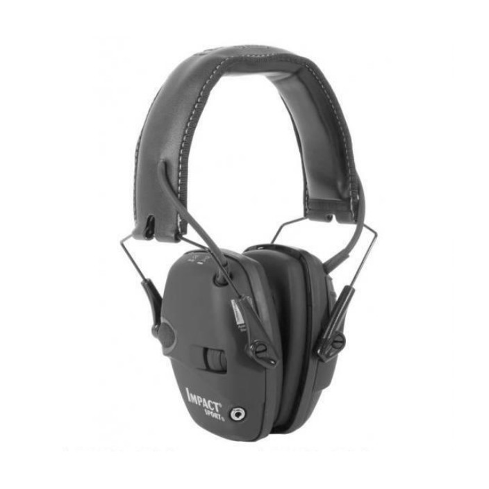 Howard Leight Impact Sport Black Earmuff R-02524