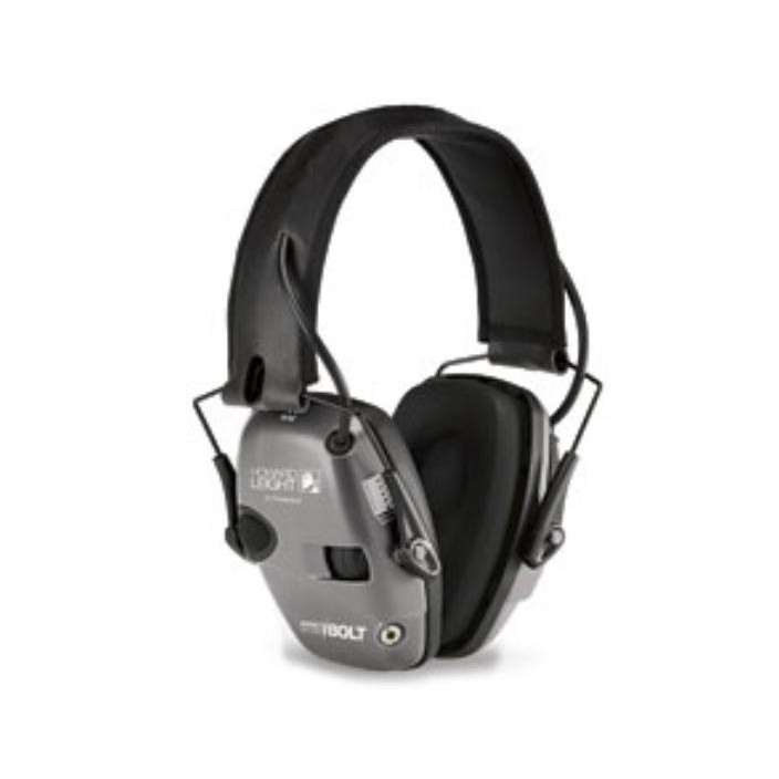 Howard Leight Impact Sport Bolt Grey Earmuff R-02232