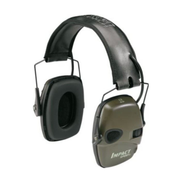 Howard Leight Impact Sport Green Earmuff R-01526
