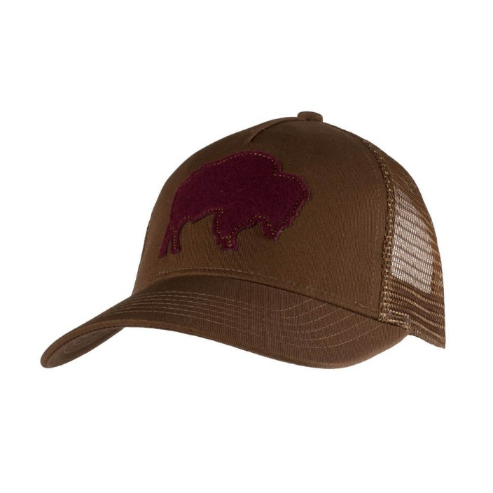 Mountain Khakis Bison Patch Trucker Cap