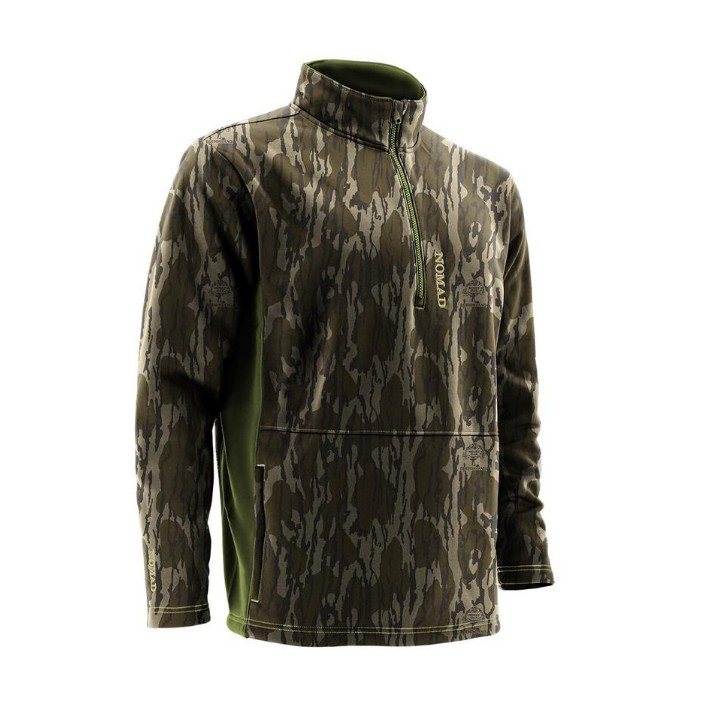 Nomad Southbounder Camo 1/4 Zip Fleece