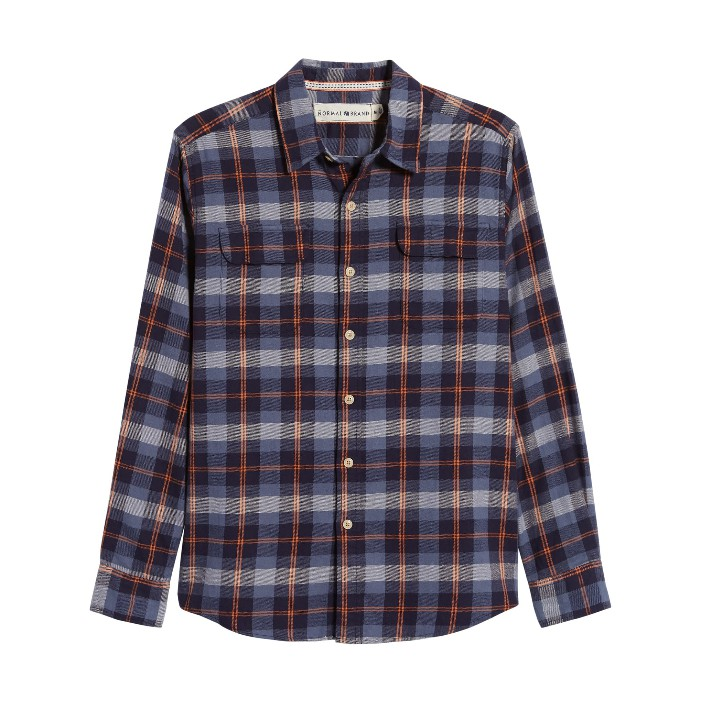 The Normal Brand Conrad Long-Sleeve Button-Up