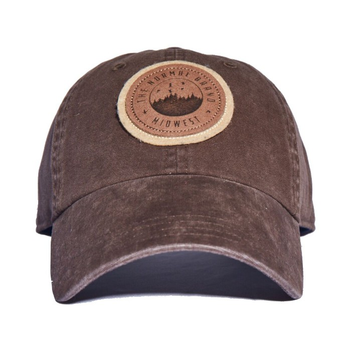 The Normal Brand Duck Leather Cap