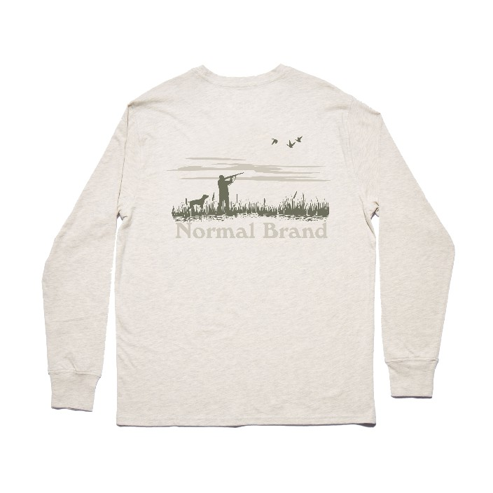 The Normal Brand LS Hunt T-Shirt