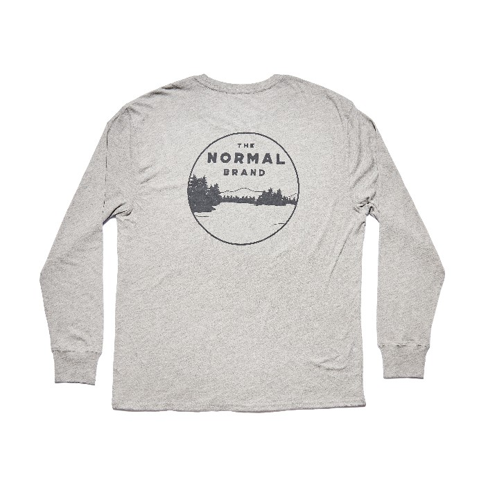 The Normal Brand LS Landscape T-Shirt