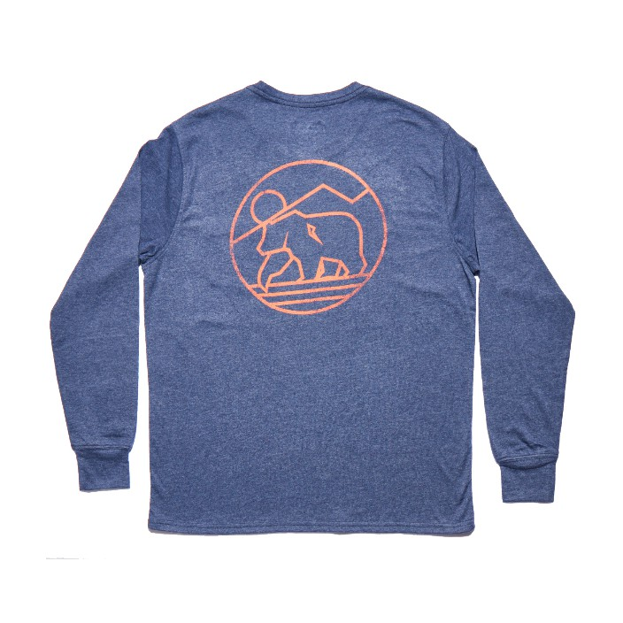 The Normal Brand LS Mountain Bear T-Shirt