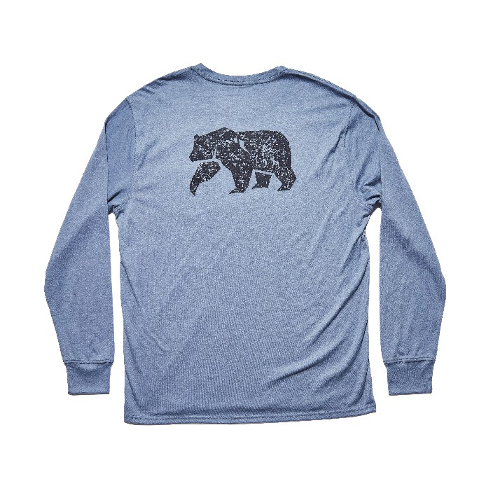 The Normal Brand LS Worn In Bear T-Shirt