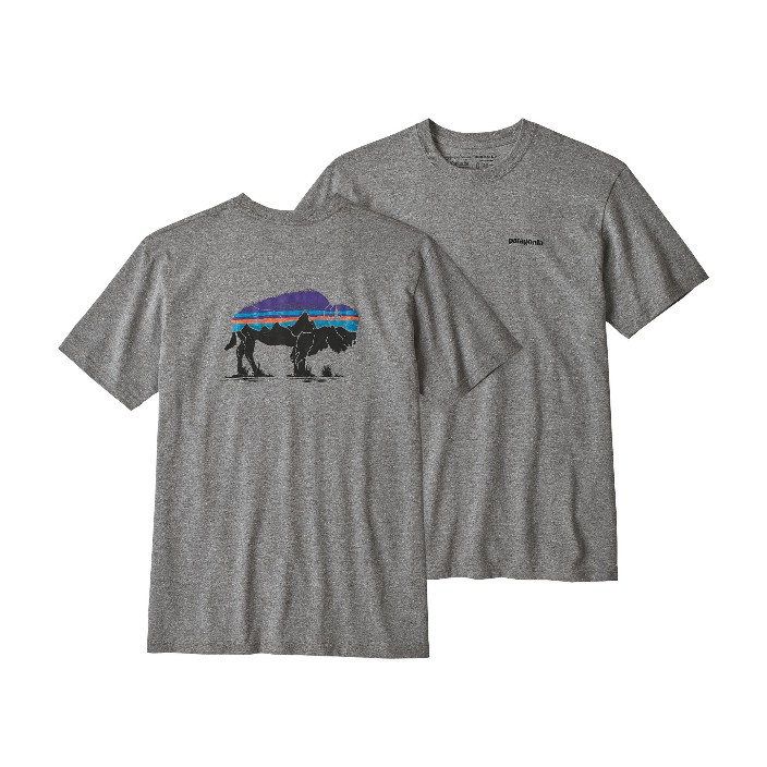 Patagonia Men's Fitz Roy Bison Resonsibili-Tee