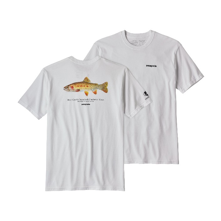Patagonia Men's Greenback Cutthroat World Trout Responsibili-Tee