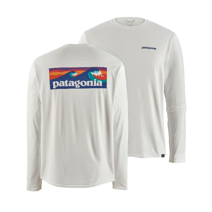 Patagonia Men's L/S Cap Cool Daily Graphic Shirt