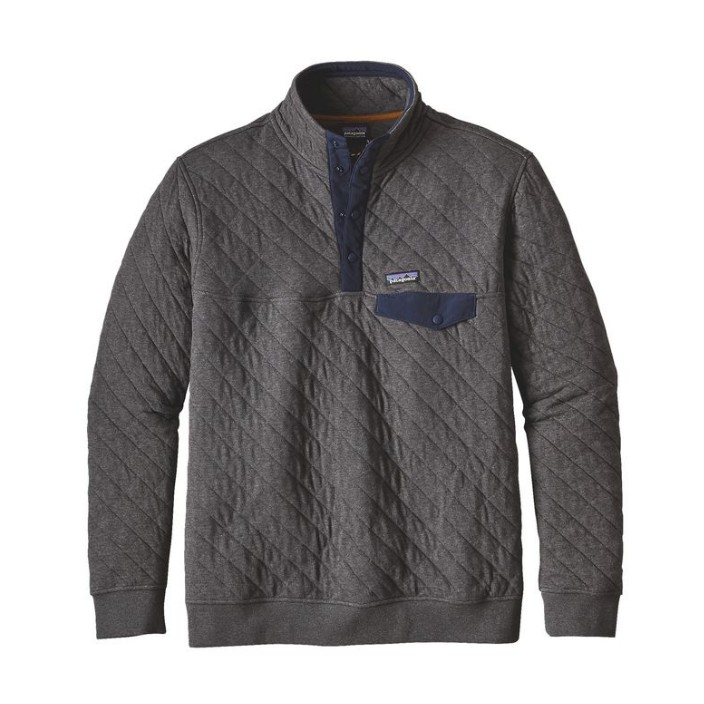 Patagonia Men's Organic Cotton Quilt Snap-T Pullover